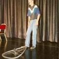 Erster Auftritt beim Schweizer Showtalent-Wettbewerb 1994 im Shopping-Center-Spreitenbach. Parodie von Beat Breu.