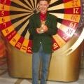 """Peter von Kron nach dem Sieg in der TV-Sendung \""""Risiko\"""" vom 3.10.1994."""