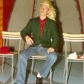 """Peter von Kron bei den Proben für die TV-Sendung \""""Risiko\"""" vom 3.10.1994."""