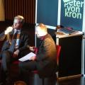 EU-Kommissar Günther Oettinger und Peter von Kron