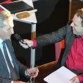 EU-Kommissar Günther Oettinger - und Peter von Kron