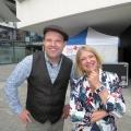 Sängerin Monique und Peter von Kron (Pro Senectute Jubilums-Tour