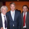 Emil Steinberger, Franz Fischlin und Peter von Kron